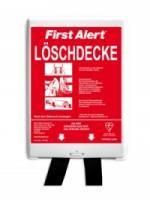 Löschdecke First Alert, 1x1 m, in Wandbox