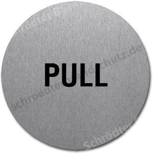 Textschild- PULL