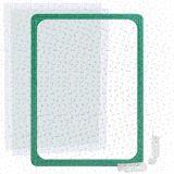 Kunststoffrahmen DIN A4 grün