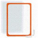Kunststoffrahmen DIN A4 orange