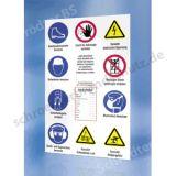 Sicherheitsaushang - Baustellen-Sicherheitsschild