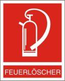 Hinweisschild - Feuerlöscher