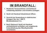 Schild - Im Brandfall DIN 14461-6 für FW-Schlauch