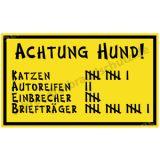Witzschild - Achtung Hund!