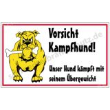 Witzschild - Vorsicht Kampfhund!