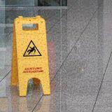 Warnaufsteller - Achtung vor Rutschgefahr