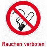 Zubehör - Set für Warnaufsteller Rauchen verboten