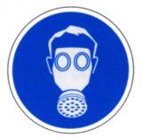 Gebotsschild - Atemschutz benutzen