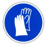 Gebotsschild - Handschutz benutzen