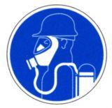 Gebotsschild - Schweres Atemschutzgerät benutzen